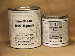 Bio Clear 810™ tabletop epoxy (1.5 gallon unit)