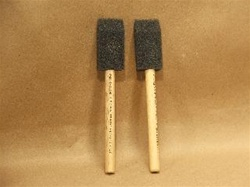 1 inch foam brushes (24 brushes)