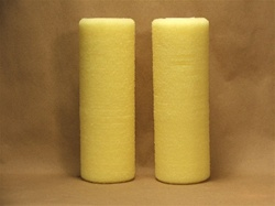 Thick split foam rollers (two rollers)