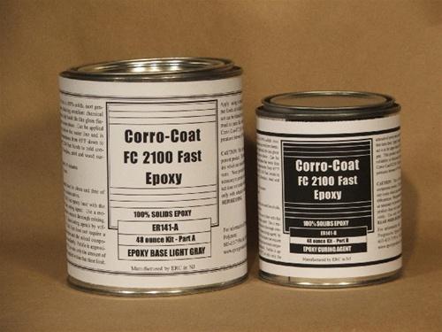 Coat FC2100 FAST epoxy paint 15 quart unit
